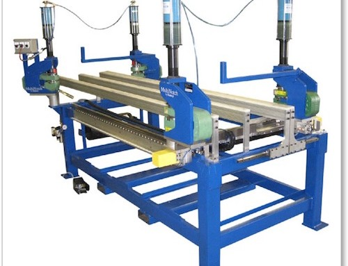 Adjustable X & Y Notching Table