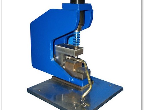 Mandrel Punching Station w/ Custom Tube Gauging